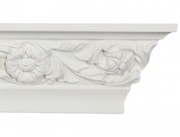 Crown Molding - Plastic Crown Moluding Manufactured with a Dense Architectural Polyurethane Compound. CM-2073 Crown Molding
