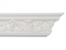 Crown Molding - Plastic Crown Moluding Manufactured with a Dense Architectural Polyurethane Compound. CM-2080 Crown Molding