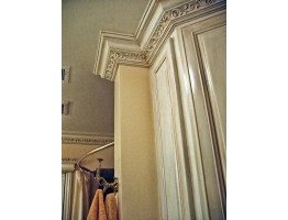 Crown Molding - Plastic Crown Moluding Manufactured with a Dense Architectural Polyurethane Compound. CM-2093 Crown Molding