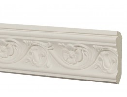 Crown Molding - Plastic Crown Moluding Manufactured with a Dense Architectural Polyurethane Compound. CM-2112 Crown Molding