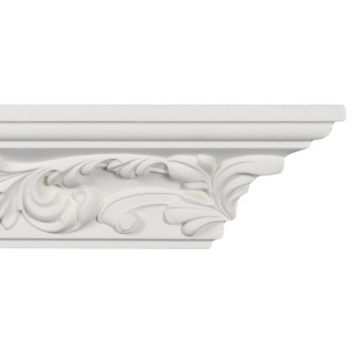 Crown Molding 2 5/8 inch Manufactured with a Dense Architectural Polyurethane Compound CM 2132