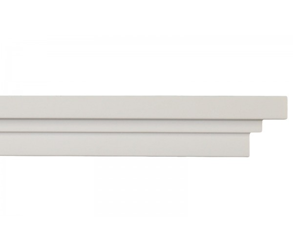 Crown Molding - Plastic Crown Moluding Manufactured with a Dense Architectural Polyurethane Compound. CM-2138 Crown Molding
