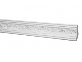 Crown Molding - Plastic Crown Moluding Manufactured with a Dense Architectural Polyurethane Compound. CM-2158 Crown Molding