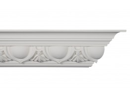 Crown Molding - Plastic Crown Moluding Manufactured with a Dense Architectural Polyurethane Compound. CM-2281 Crown Molding