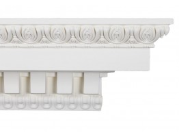 Crown Molding - Plastic Crown Moluding Manufactured with a Dense Architectural Polyurethane Compound. CM-5102 Crown Molding