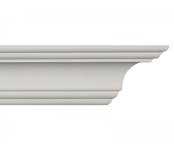 Crown Molding - Plastic Crown Moluding Manufactured with a Dense Architectural Polyurethane Compound. CM-2028 Crown Molding