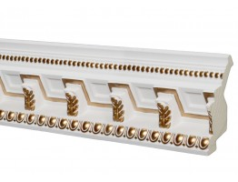 Crown Molding 5 inch Manufactured with a Dense Architectural Polyurethane Compound CM 2294 WG