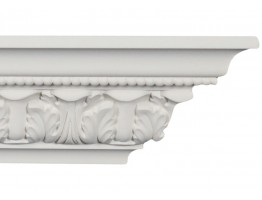 Crown Molding - Plastic Crown Moluding Manufactured with a Dense Architectural Polyurethane Compound. CM-2060 Crown Molding