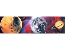 Prepasted Wallpaper Borders - Moon Wall Paper Border SN71133F