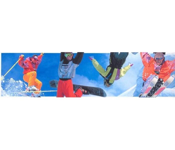 Clearance: Skate Wallpaper Border SN71147F