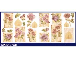 Floral Wallpaper Border SP96107GH
