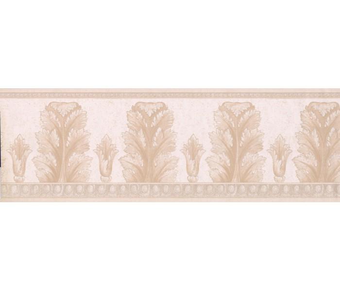 Vintage Wallpaper Borders: Tan Molding Wallpaper Border