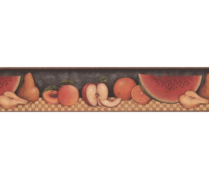 Garden Wallpaper Borders: 30902310 Fruit Wallpaper Border