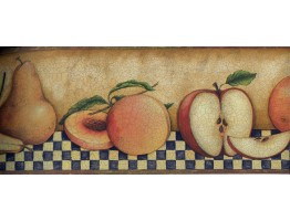 Prepasted Wallpaper Borders - Fruits Wall Paper Border 30902350