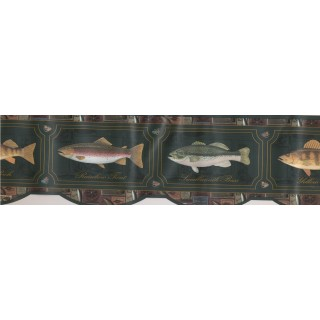 7 in x 15 ft Prepasted Wallpaper Borders - Yellow Perch Wall Paper Border