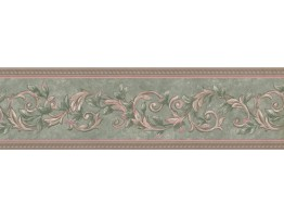 Prepasted Wallpaper Borders - Vintage Wall Paper Border 40926270