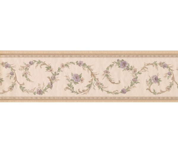 Clearance Floral Wallpaper Border 51306220