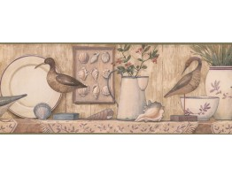 Blue Duck Kitchen Wallpaper Border