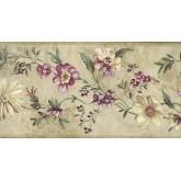 Floral Wallpaper Borders: Pink Little Flowers Wallpaper Border