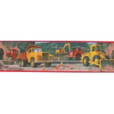 Clearance: Construction Self Adhesive Stick Wallpaper Border