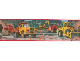 Construction Self Adhesive Stick Wallpaper Border