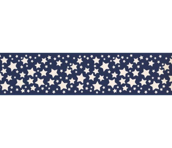 Sun Moon Stars Wall Borders: Blue Stars Wallpaper Border