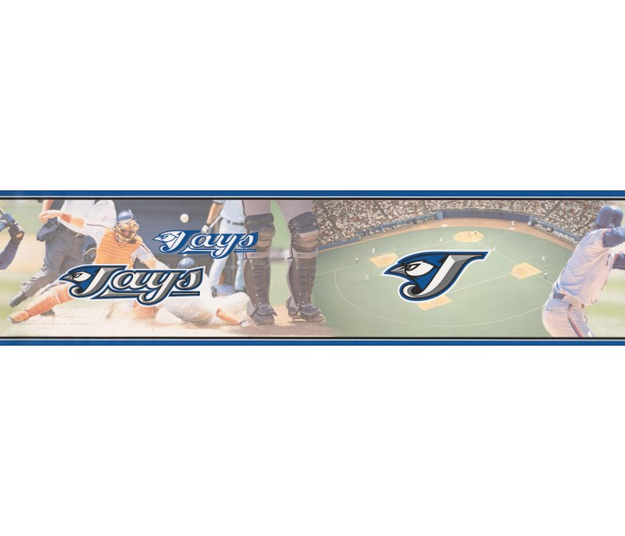 Baseball Wallpaper Borders: White Baseball Wallpaper Border
