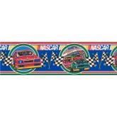 Cars Wallpaper Borders: Red Nascar Wallpaper Border