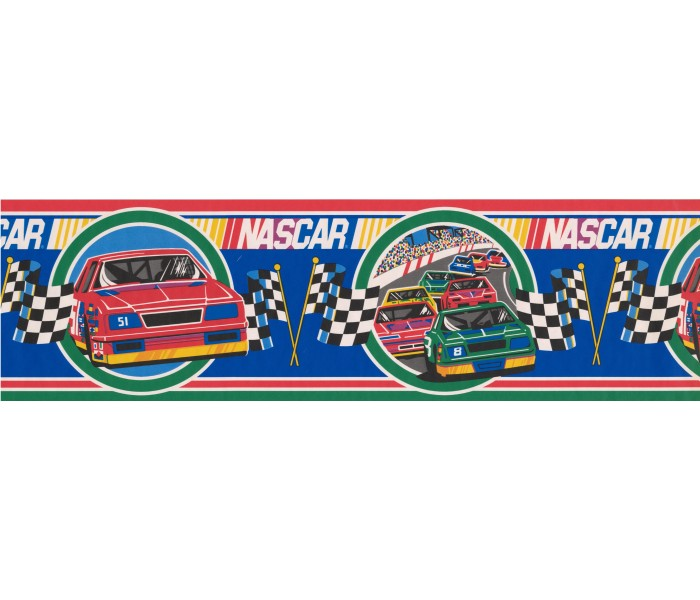 Nascar Wallpaper Border: Red Nascar Wallpaper Border
