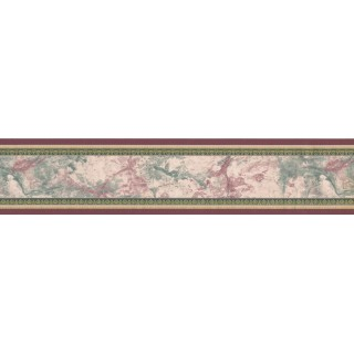 5 in x 15 ft Prepasted Wallpaper Borders - Abstract Wall Paper Border 58320591
