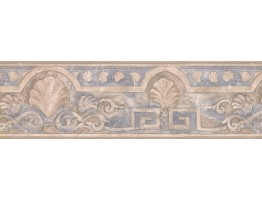 Shell Architectural Molding Wallpaper Border
