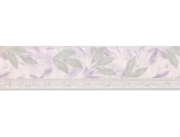 Prepasted Wallpaper Borders - Floral Wall Paper Border 67116