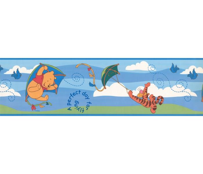 Disney Wallpaper Borders: Disney Winnie Flying Wallpaper Border