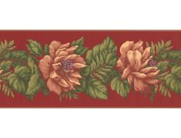 Single Daisy Flower Wallpaper Border
