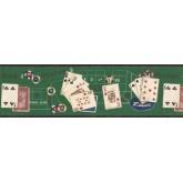 Clearance: Raise Poker Wallpaper Border