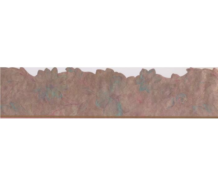 Vintage Wallpaper Borders: Floral Shaped Molding Wallpaper Border