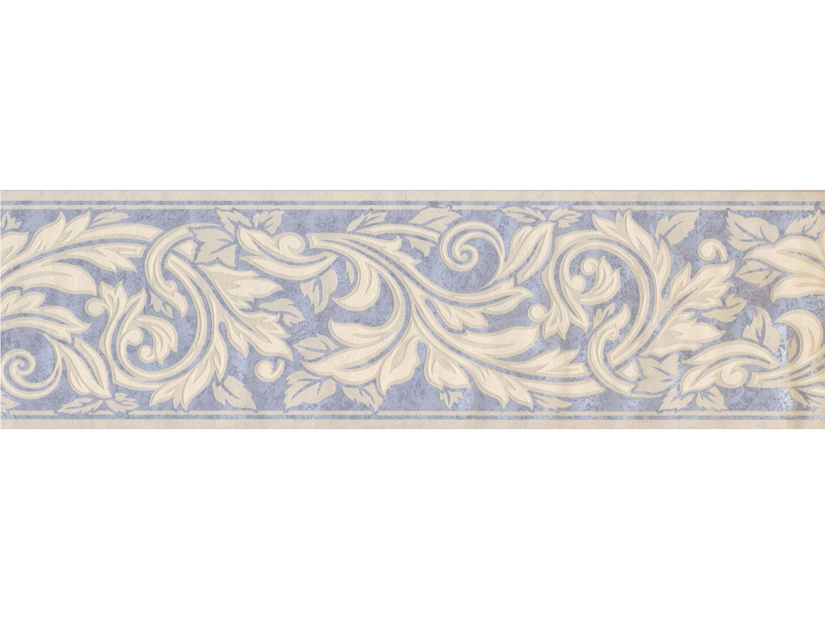 Prepasted Wallpaper Borders Floral Wall Paper Border 93385