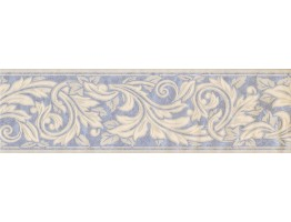 Prepasted Wallpaper Borders - Floral Wall Paper Border 93385