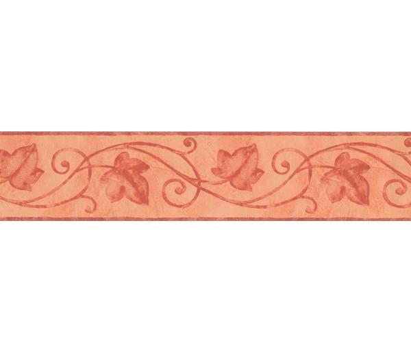 Garden Wallpaper Borders: Pink Palm Leaf Wallpaper Border