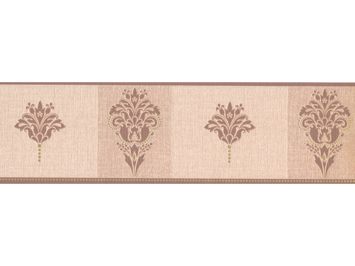 Floral Wallpaper Border 97017