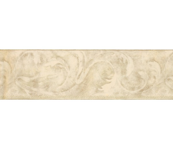 Contemporary Borders Moss Acanthus Scroll Wallpaper Border