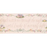 Novelty Wallpaper Borders: Rabbit Duck Quote Wallpaper Border