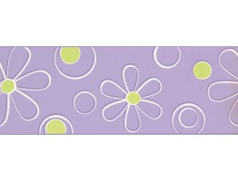 Prepasted Wallpaper Borders - Floral Wall Paper Border BT2701