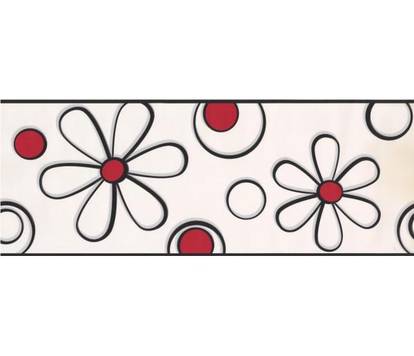 Floral Wallpaper Borders: Floral Wallpaper Border BT2703