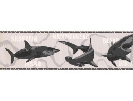 Fish Wallpaper Border BT2720