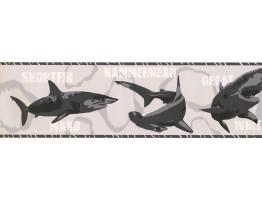 Prepasted Wallpaper Borders - Fish Wall Paper Border BT2720