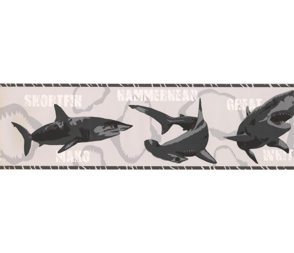 Sea World Borders Fish Wallpaper Border BT2720 York Wallcoverings
