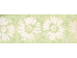 Prepasted Wallpaper Borders - Sunflower Wall Paper Border BT2729