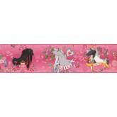Clearance: Horses Wallpaper Border BT2746