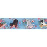 Clearance: Horses Wallpaper Border BT2747